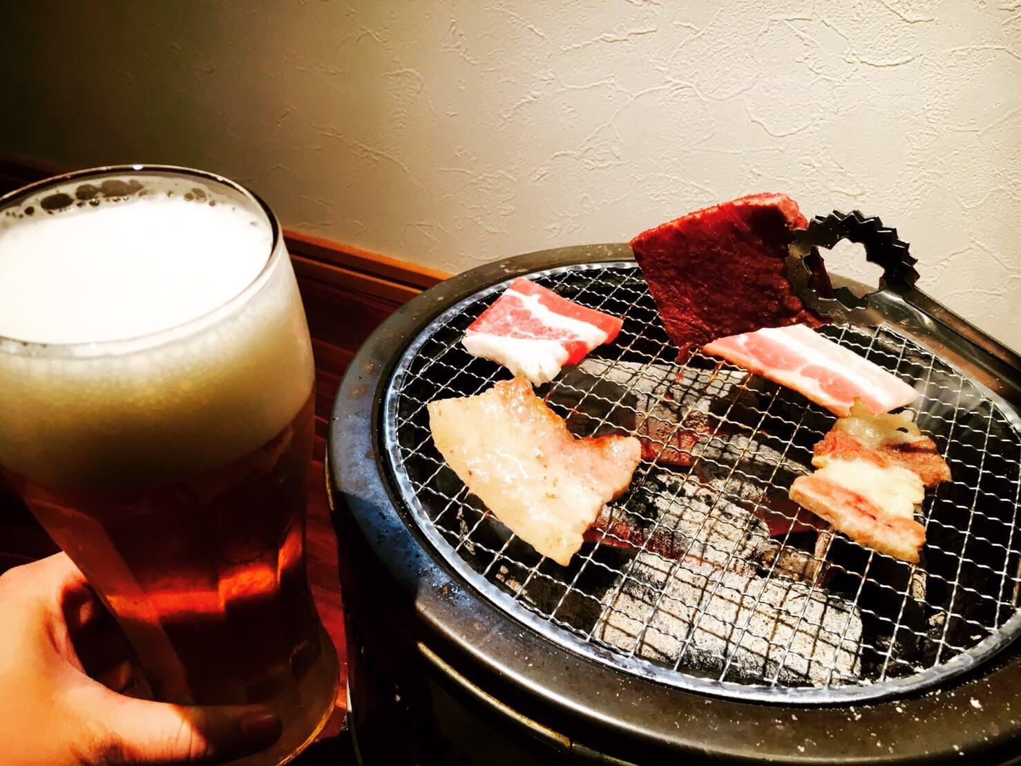 【sumibiyaki iroha(炭焼きいろは)】カフェみたいな焼肉屋さん。コスパ抜群の食べ放題で女子会やデートにもオススメ。