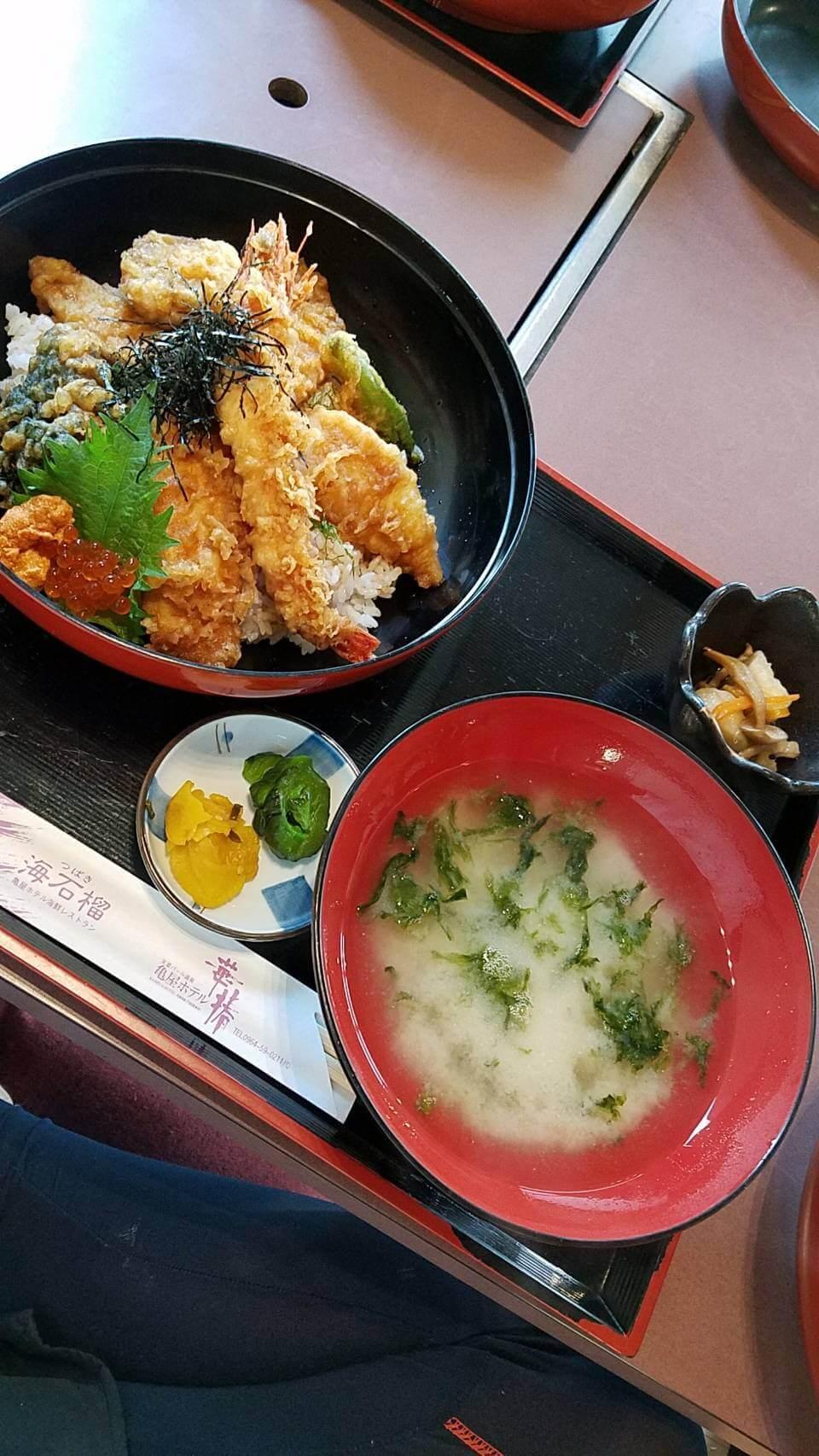 【海石榴(つばき)】天草の魚介に舌鼓。まさに‼︎開けてビックリ⁉︎ビックリ丼!