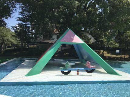 【水前寺児童公園 ちびっこプール】夏季限定!無料で遊べるプール!《熊本市中央区水前寺》