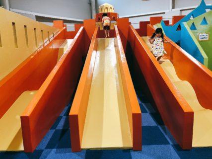 【阿蘇ファームランド元気チャレンジ館】幼児向け遊具が40種類!思い切り体を動かせる全天候型屋内施設!