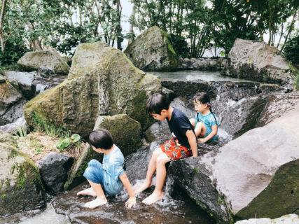 【サクラマチガーデン】新しい水遊びスポット!サクラマチクマモトの屋上庭園がステキ!【熊本市中央区桜町 】