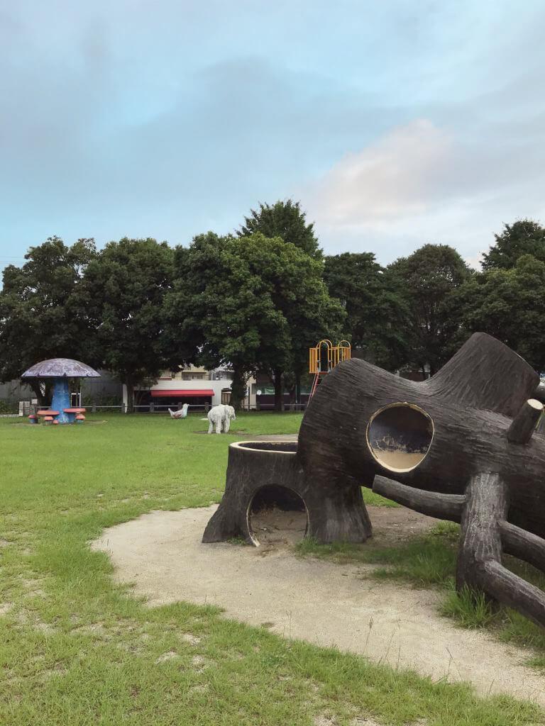 【錦ヶ丘公園】幼児専用の遊び場がある公園!【熊本市東区錦ヶ丘】