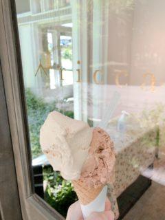 【ricca (リッカ)】冷たいデザートの濃厚ジェラートやアイスキャンディー、喫茶スペースもある素敵なケーキ屋さん《熊本県山鹿市方保田》