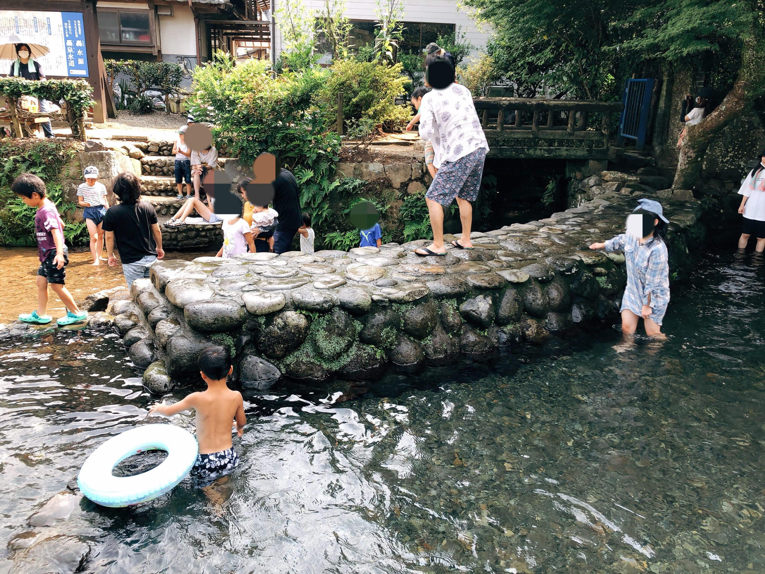 【轟水源】日本名水百選に選ばれる湧水池で水あそび!《宇土市宮庄町》
