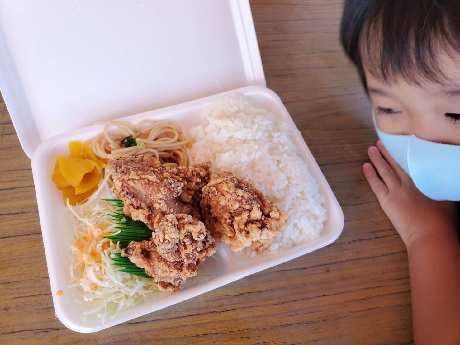 【KITCHEN はなや】安くてボリューム満点!イチオシの唐揚げ弁当《熊本市西区池田》