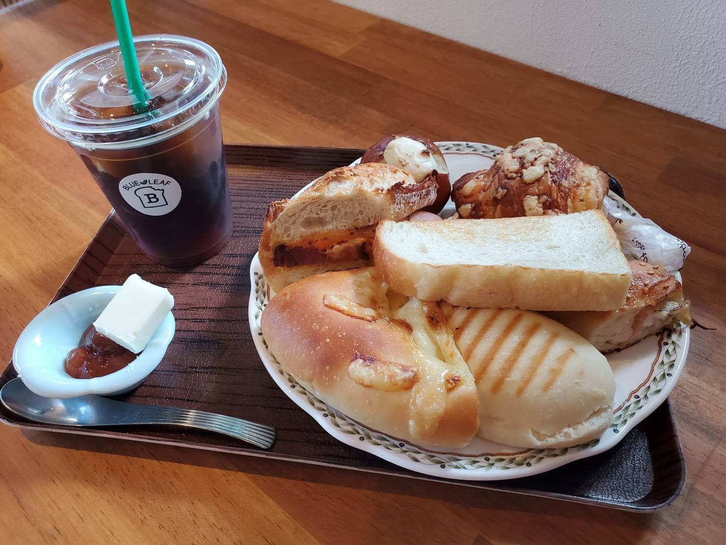 【BLUE  LEAF-ブルーリーフ-】よくばりなモーニングセットが頂けるおしゃれなパン屋さん《熊本市北区植木町》
