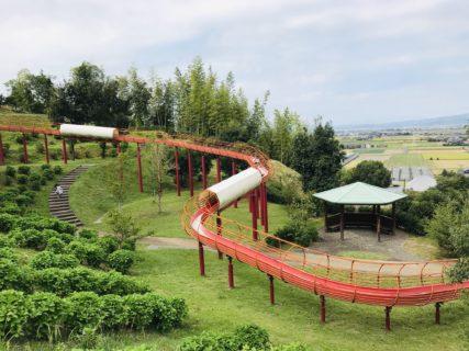 【竜北公園 】126mのローラーすべり台が名物の公園!《熊本県八代郡氷川町大野》