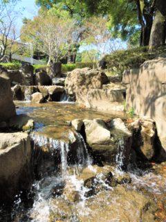 【武蔵塚公園】宮本武蔵の生涯を学ぼう♪水と親しめる落ち着いた公園《熊本市北区龍田》