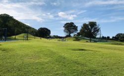 【熊本県民運動総合公園 お楽しみ広場】本格的な人工草スキーが楽しめる!《熊本市東区平山町》