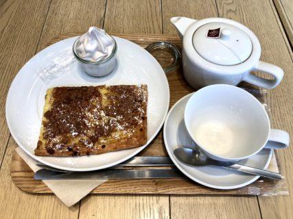 【TEA&BAKE-ティーアンドベイク-】買い物中に子供とひと休み♪美味しいパイとドリンクのお店《菊池郡菊陽町光の森》