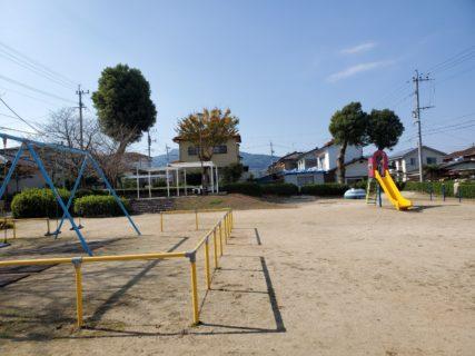 【ちびっこ公園】はまっちゃう遊具のある公園☆《熊本市北区植木町》