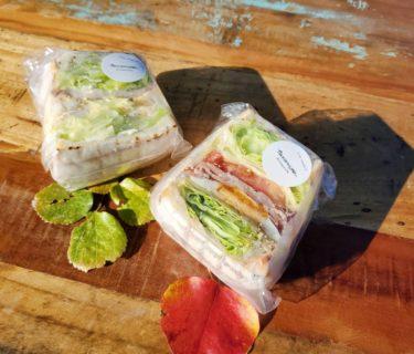 【sandwich cafe TATOMIYAータトミヤ】熊本サンドイッチ語るなら、まずはタトミヤ☆映え断面のサンドイッチ《熊本市中央区坪井》