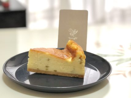 【お菓子屋tumugu. つむぐ】食べたことが無かった新発見ケーキ かぼすのチーズケーキ が超絶美味しすぎて気絶しかけた《熊本市中央区大江》