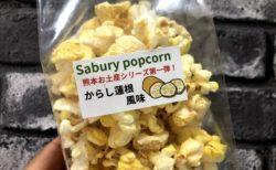 【サブリーポップコーン】子供も喜ぶフレーバー豊富なポップコーンの熊本の味 辛からし蓮根味 が超絶うまかった《熊本市中央区世安町》