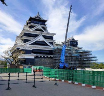 【熊本城 特別見学通路】立派過ぎる回廊で間近に見るお城★ライトアップのイベントもお見逃しなく《熊本市中央区本丸 》