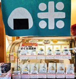 【ふじき本店】バザーなどにもおすすめ★お米屋さんの作る美味しいおにぎり《熊本市中央区新町》
