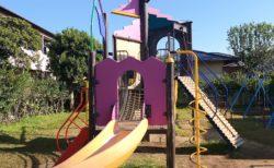 【健軍新土井西公園】住宅地の中とは思えない充実遊具の公園♪《熊本市東区東京塚町》