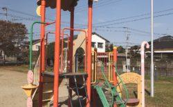 【うぐいす原公園】お店屋さんごっこが出来ちゃう公園♪遊具もキレイです!《熊本市東区花立》