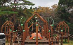 【西原村青少年の森『風の里』キャンプ場】立ち寄りもOK!遊具&ローラーすべり台があるキャンプ場♬《阿蘇郡西原村》