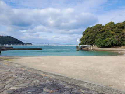 【湯の児島公園】亀に出会える☆海の中にある小さな島の公園《水俣市浜》