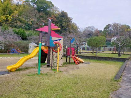 【池田一丁目西児童遊園】わくわく遊具がたくさん!な、ほのぼの公園《熊本市西区池田》