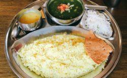 【インド食堂】インドの日替わり家庭料理♬スパイスの旨味がたまらない!!《熊本市中央区大江》