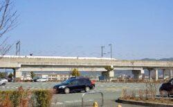 【新玉名駅前広場】九州新幹線が目の前に☆駅前ののんびりできる公園《玉名市両迫間》