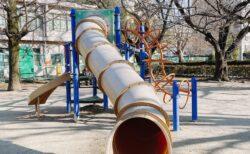 【西原公園】お花見しながら児童館とともに楽しめる公園!《熊本市中央区九品寺》