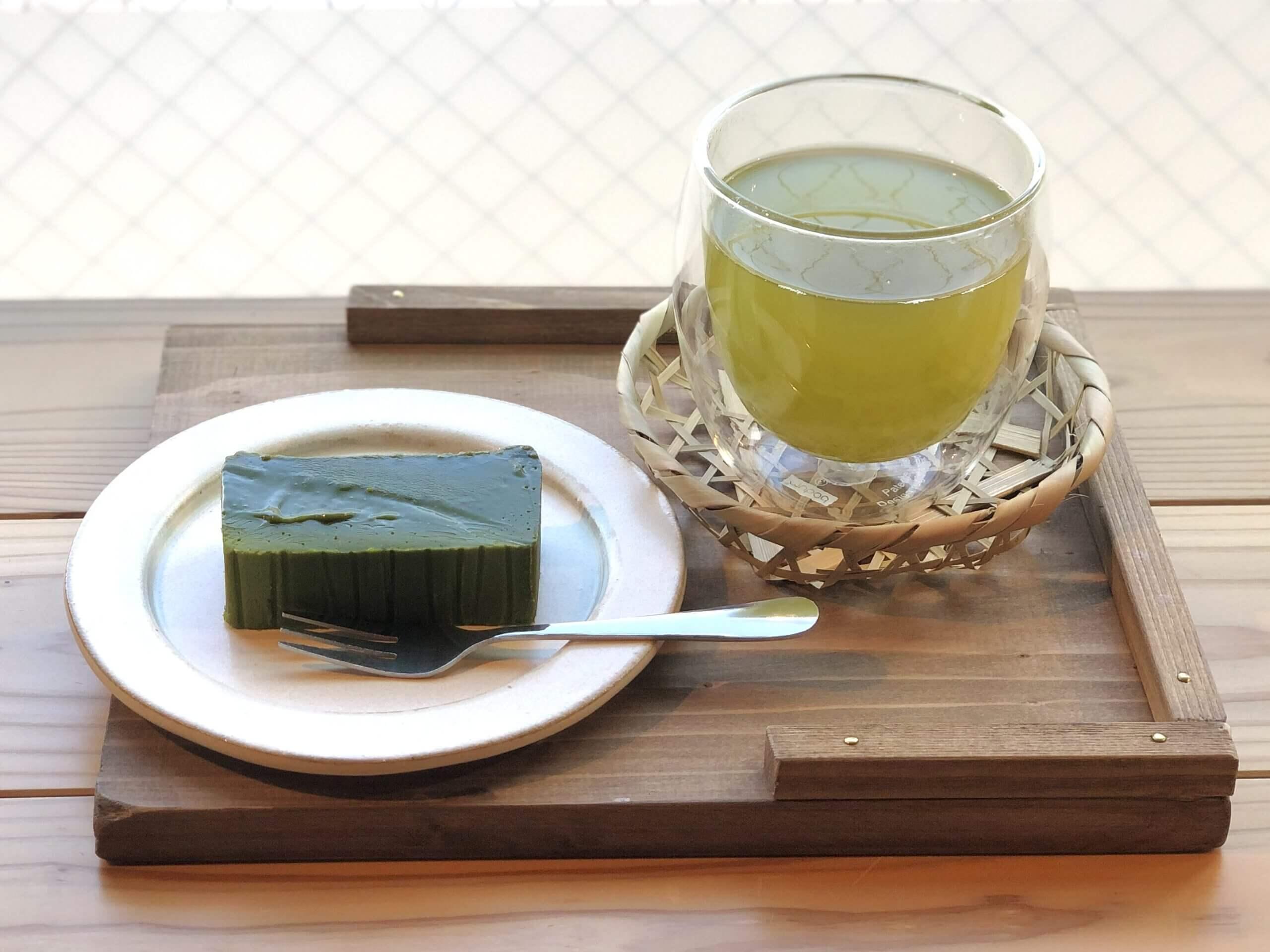 【和の茶緑祇園 – RYOKUGIEN -】お茶好きにはたまらない、心落ち着くスイーツとドリンク《熊本市中央区九品寺》