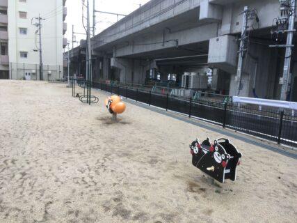 【春日六丁目コミュニティ公園】熊本駅近く、人が少ない穴場公園《熊本市西区春日》