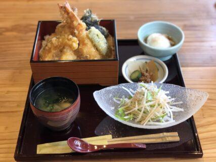 """【海鮮天ぷら ささの】移転オープンした""""ささの""""さんのランチメニューが贅沢うまし。《熊本市中央区新町》"""