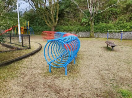 【池田公園】楽しそうな遊具のある公園《熊本市西区池田》