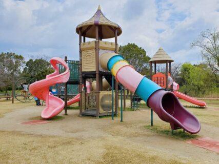 【金魚と鯉の郷広場】水遊びもできる!楽しいがつまった公園☆《玉名郡長洲町》