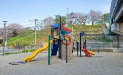 【段山公園】路面電車とJRに囲まれた公園《熊本市中央区段山本町》