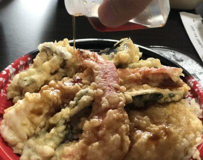 【鉄なべ屋TETU (テツ) 】テイクアウトも充実!揚げたてサックサクの大きな海老天がやみつきになるお店 (熊本市中央区水前寺公園)