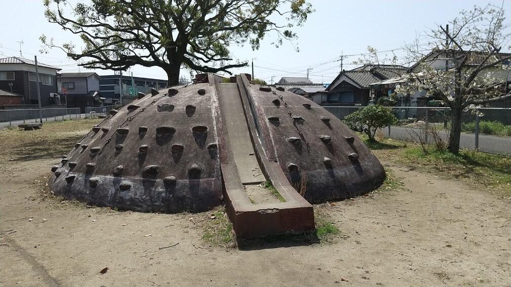 【大島公園】万田坑のような山のある公園②《荒尾市大島町》