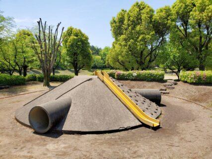 【杉水公園】迷路のような広さ!わくわくドキドキな遊具のある公園《菊池郡大津町杉水》