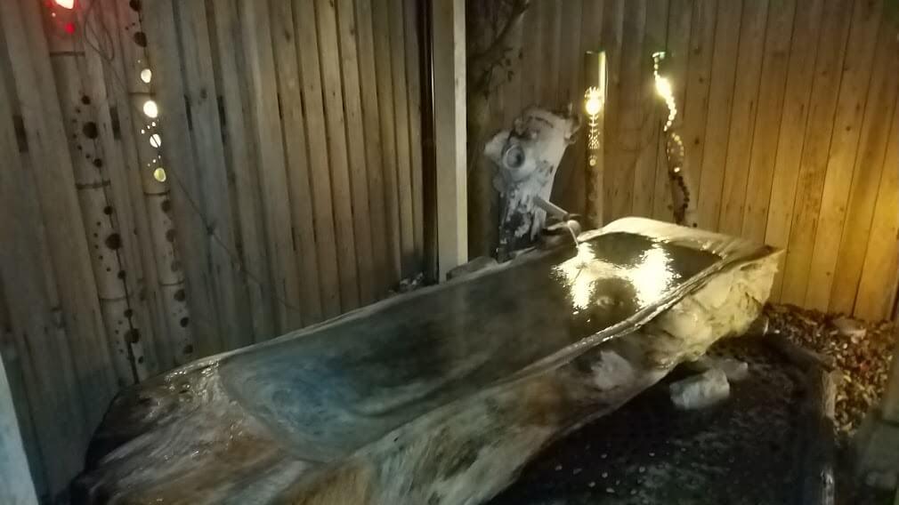 【家族温泉 湯めぐりの里 竹乃香(たけのこ)】あの芸能人も入った!?木でできた寝そべりお風呂が最高!《玉名市玉名》