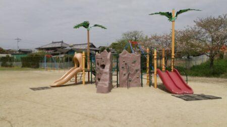 【山下公園】バスケットゴールとターザンのある公園《玉名市岱明町山下》