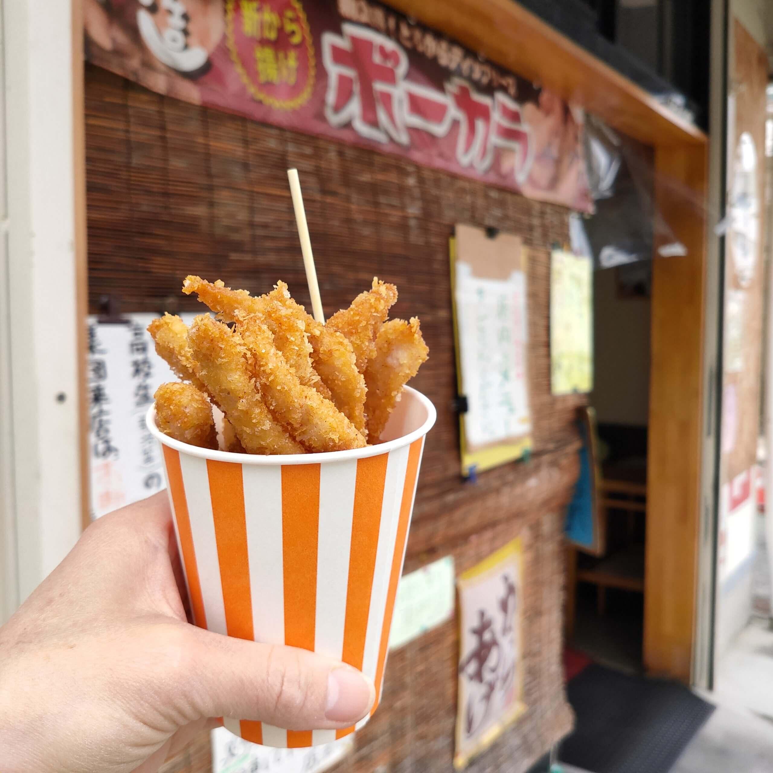 【からあげ喜造】塩からあげが美味い♪人気のボーカラもあります《熊本市中央区出水》