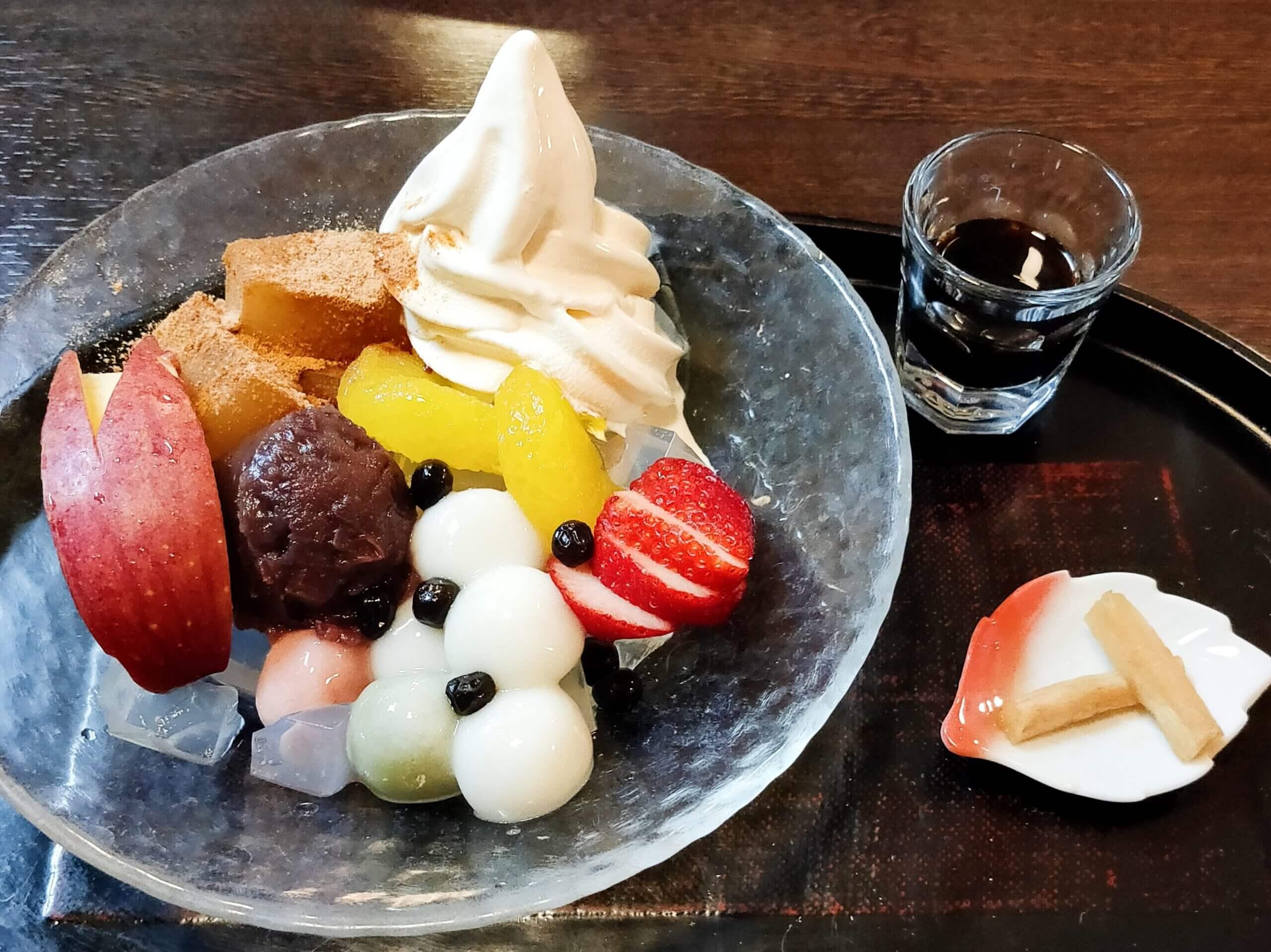 【白玉屋新三郎】こだわりの老舗白玉粉やさん♪白玉甘味や洋食が頂けるレストランも併設《八代郡氷川町》