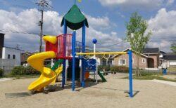 【長田公園】山鹿市住宅街にあるキレイな公園《山鹿市川端町》