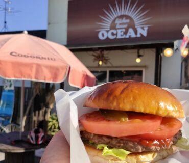 【OCEAN(オーシャン)】塩唐揚げがデカくて美味い♪ハンバーガーもオススメ《八代市松崎町》