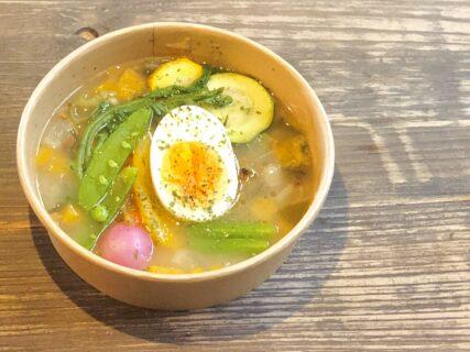 【東風日和  – こちびより – 】風情溢れる店内と身体に優しいスープ。日々の疲れが溶けてゆく《山鹿市鹿本町庄》