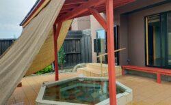 【湯るっと邸 桜坂 – 菊池市七城町蘇崎 – 】プールもある!丘の上の家族湯リゾート