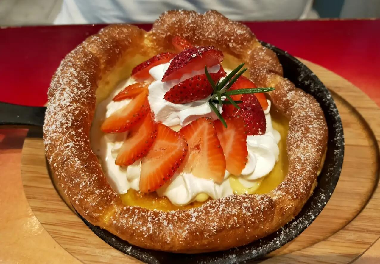 【モカカフェ-荒尾市東屋形-】キレイな住宅地にある居心地のいいカフェでダッチベイビーが食べられる!