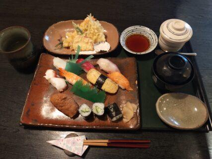 【寿司の松葉-荒尾市増永-】お昼にオトクな回らないお寿司ランチはいかが?